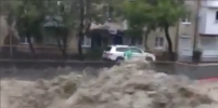 Ливни затопили улицы Туапсе: видео