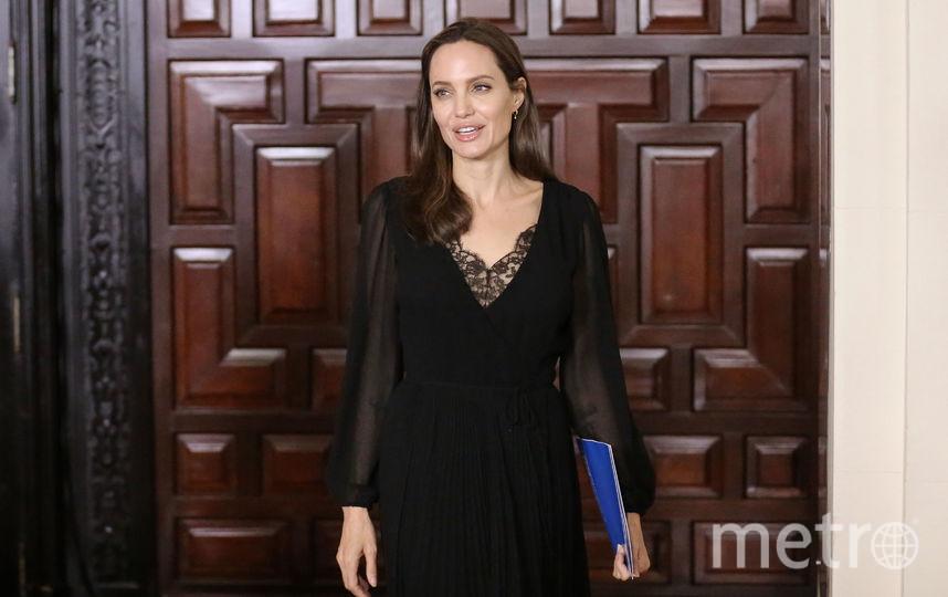 Анджелина Джоли. Фото AFP