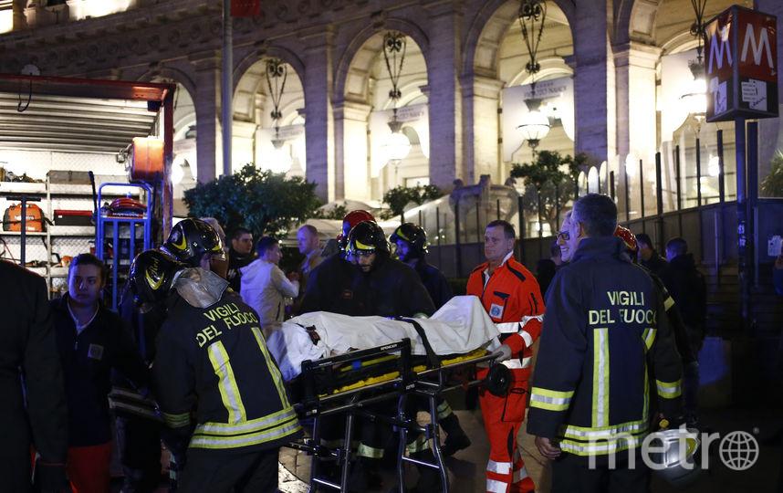 Всех пострадавших оперативно эвакуировали с места происшествия. Фото AFP