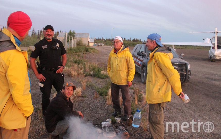 Шериф задержал граждан России с помощью лосося. Фото Жанна Панова, Живой Журнал, Предоставлено организаторами