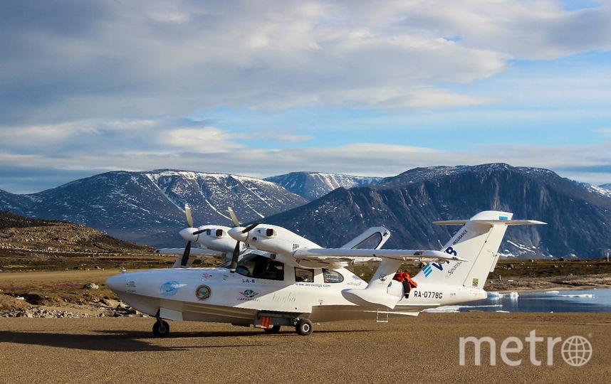 Участники экспедиции летели над Арктикой на малой высоте. Фото Олег Атьков, Предоставлено организаторами