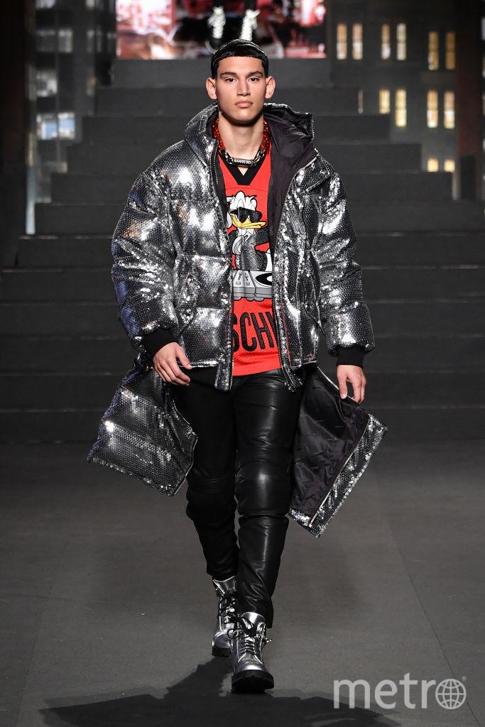Показ коллекции Moschino x H&M в Нью-Йорке. Фото Getty