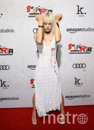 Премьера Суспирии. Актриса Кейт Краш устроила перфоманс. Фото Getty