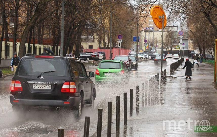 ЦОДД просит москвичей отказаться от поездок на личном транспорте из-за снега. Фото Василий Кузьмичёнок