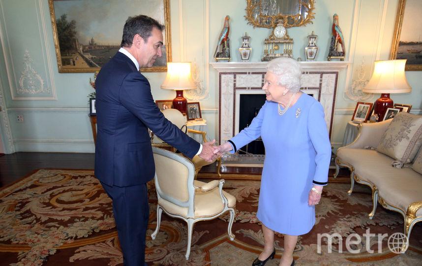 Стивен Маршалл и Елизавета II на встрече во дворце 23 октября 2018 года. Фото Getty