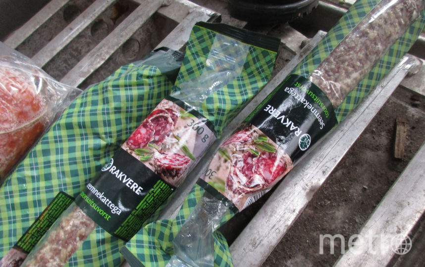 Изъятые продукты. Фото Россельхознадзор