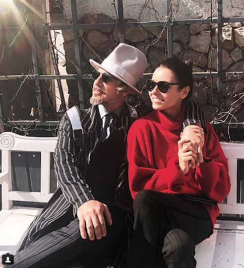 Ирена Понарошку с мужем. Фото www.instagram.com/irenaponaroshku
