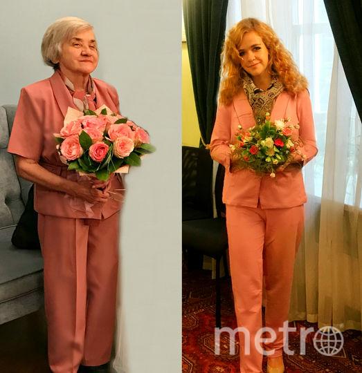 На фото я и моя красавица-бабуля, которой всегда 18 (хоть по паспорту и 87)! Она очень любит газету МЕТРО, читает каждый день! Фото Ирина и Антонина Стёпины