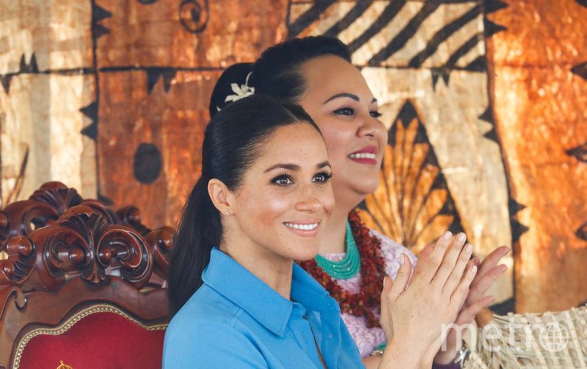 Меган Маркл и принц Гарри в Тонга. Фото Getty