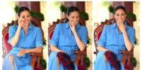 Беременная Меган Маркл до слёз смеялась над песней про комаров: видео