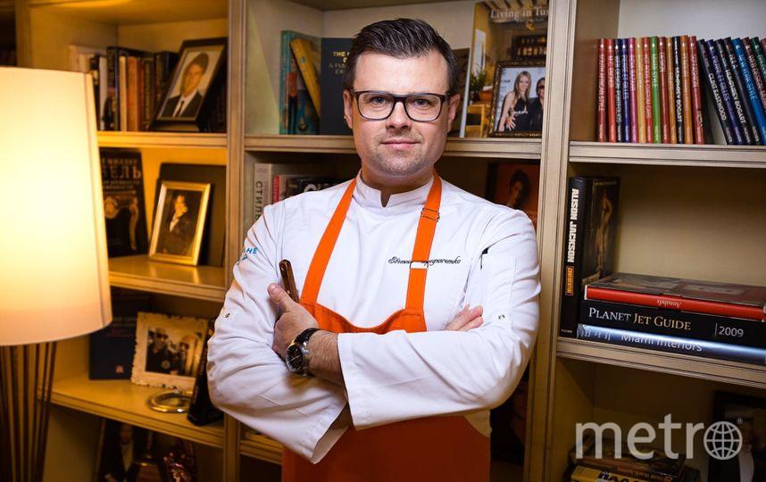 «Моё любимое блюдо – то, которое я приготовил сегодня». Евгений Чередниченко, шеф-повар. Фото Предоставлено рестораном.