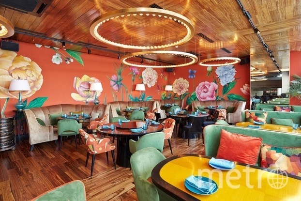 """Ресторан """"На волне"""". Фото Мария Позина, """"Metro"""""""