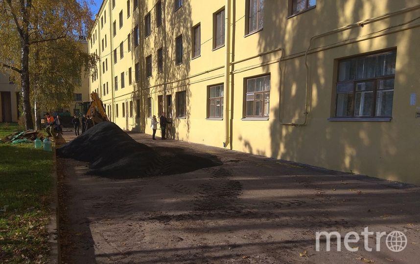 В Петербурге укладка асфальта на ямы обошлась почти в 500 тысяч рублей. Фото предоставлено активистами