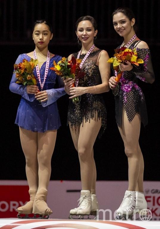 Призёры Гран-при Канады. Фото AFP