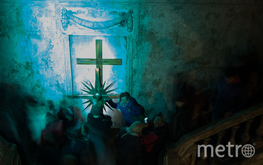 "В Анненкирхе готовят проект будущей реставрации. Фото все - Святослав Акимов., ""Metro"""