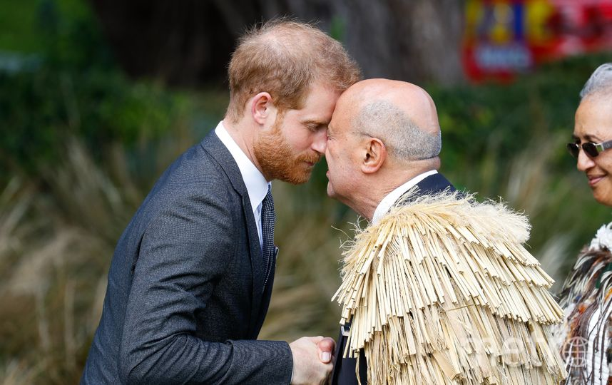 Герцог и герцогиня в Ноой Зеландии. Фото Getty