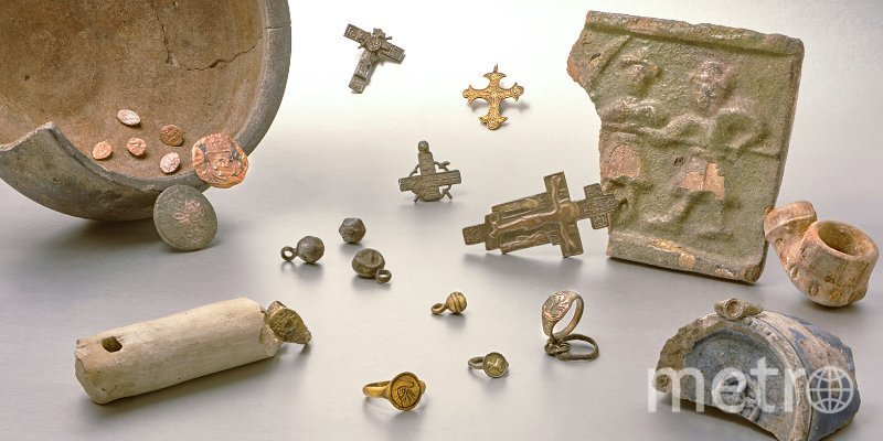 Артефакты нашли на берегу Яузы. Фото Mos.ru