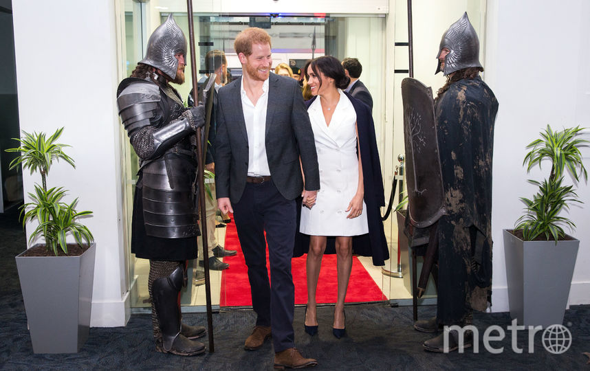 Меган Маркл и принц Гарри на арт-выставке Courtenay Creative. Фото Getty