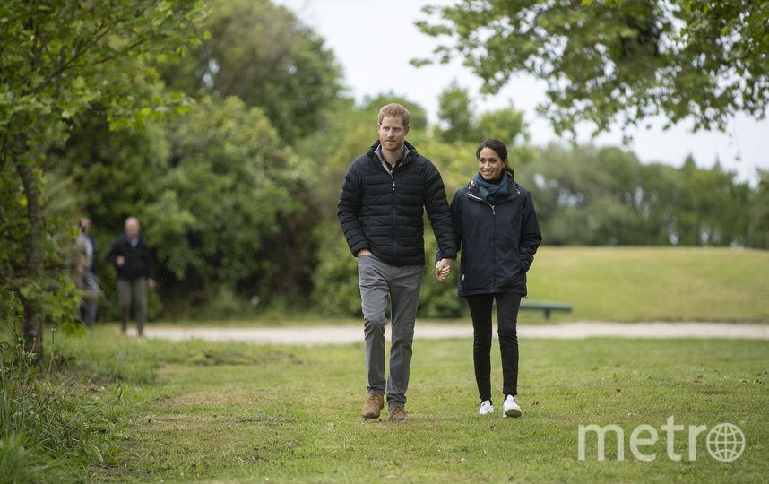 Меган Маркл и принц Гарри в национальном парке Абель Тасман. Фото Getty