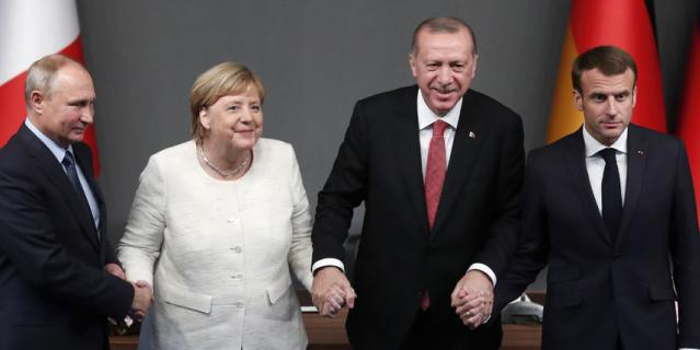 В Стамбуле прошёл четырёхсторонний саммит по вопросам Сирии.