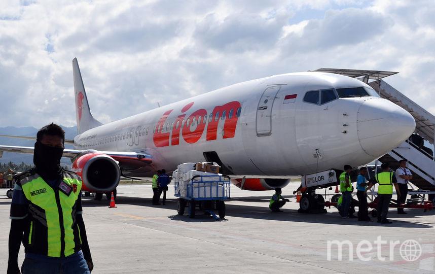 Разбившийся Boeing 737 MAX авиакомпании Lion Air. Фото AFP