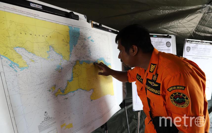 Поисково-спасательная операция Boeing 737 MAX авиакомпании Lion Air. Фото AFP