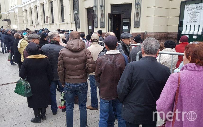 Москва прощается с Николаем Караченцовым. Фото Василий Кузьмичёнок