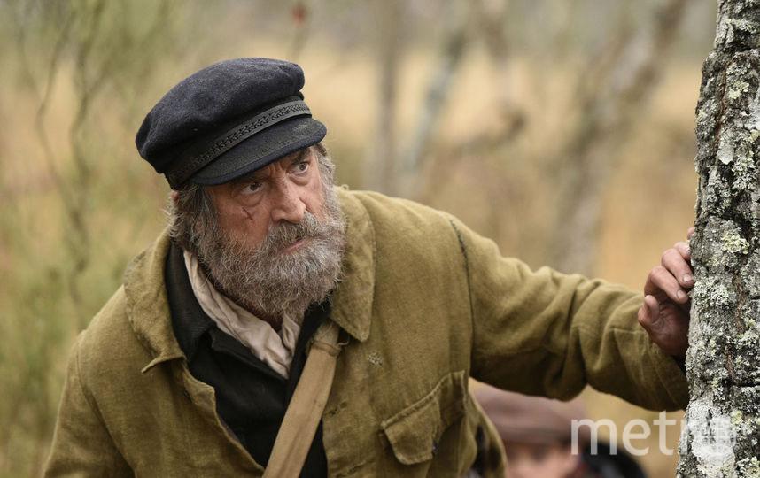 """Франсуа Клюзе в образе. Фото """"Пионер"""", Стоян Васев."""