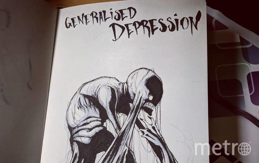 Генерализованное тревожное расстройство. Фото Скриншот Instagram/shawncoss