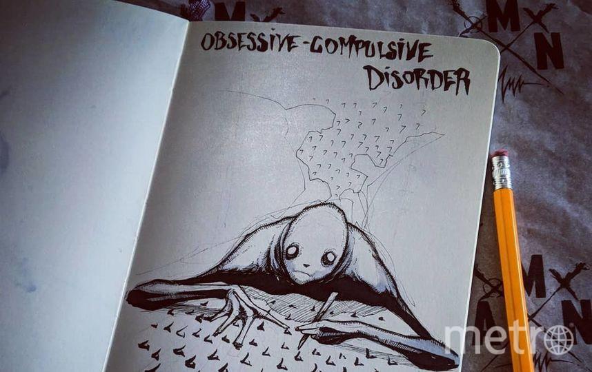 Обсессивно-компульсивное расстройство. Фото Скриншот Instagram/shawncoss