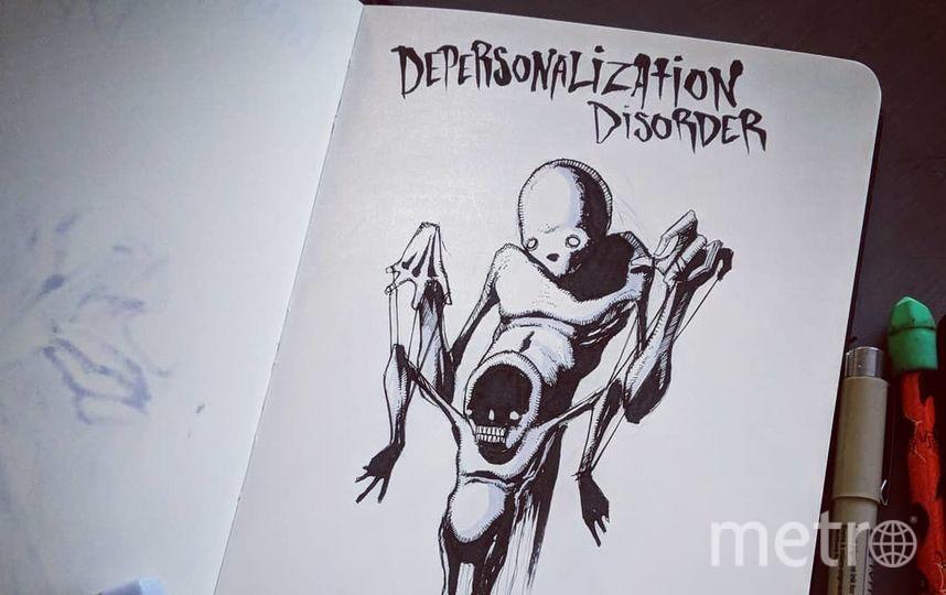 Синдром деперсонализации. Фото Скриншот Instagram/shawncoss