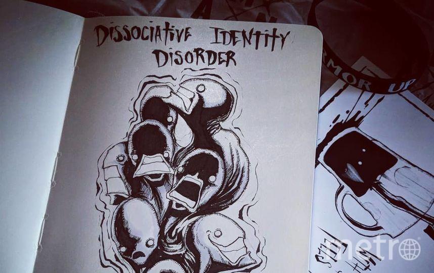 Диссоциативное расстройство идентичности. Фото Скриншот Instagram/shawncoss