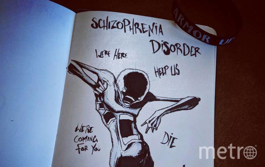 Шизофрения. Фото Скриншот Instagram/shawncoss
