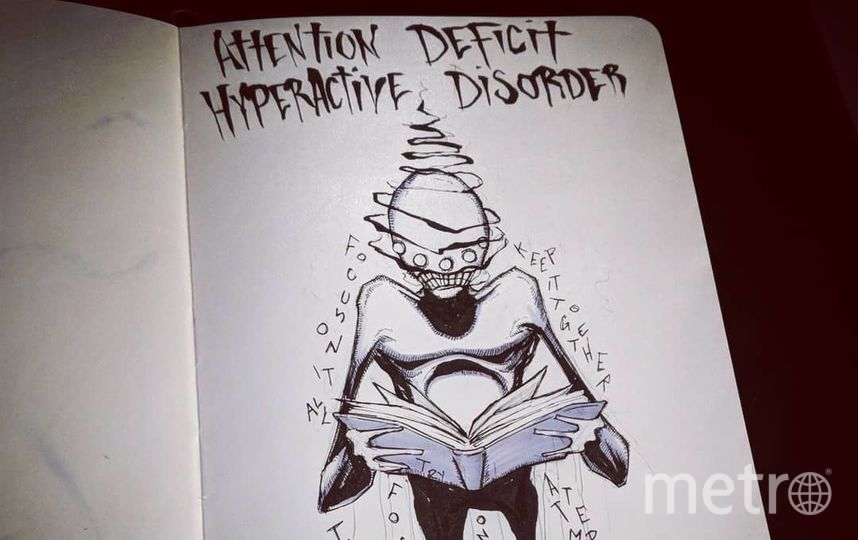 Синдром дефицита внимания и гиперактивности. Фото Скриншот Instagram/shawncoss