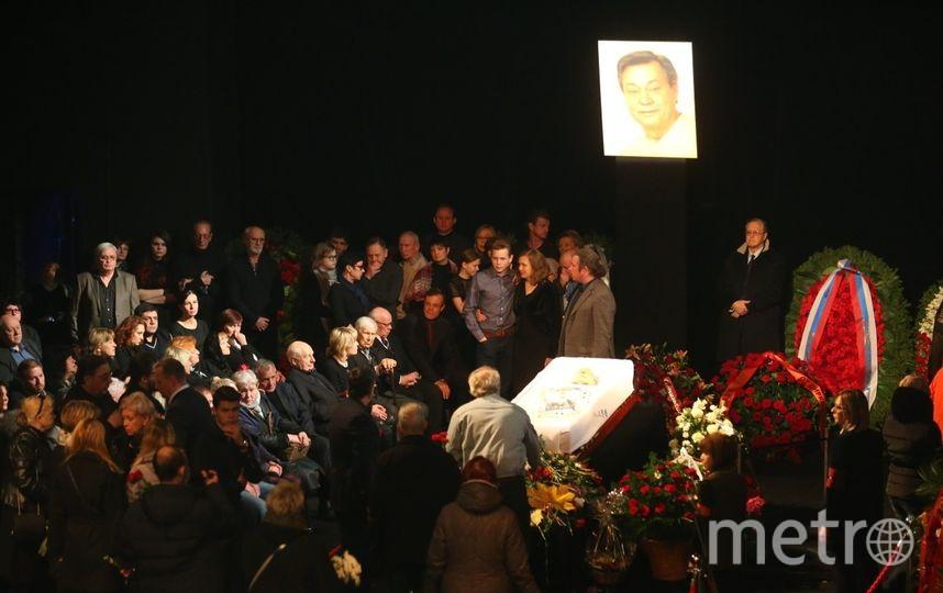 В Москве прощаются с Николаем Караченцовым. Фото Василий Кузьмичёнок