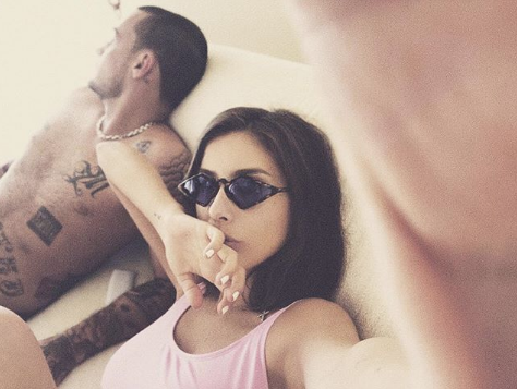 Рэпер Гуф и певица Кети Топурия. Фото www.instagram.com/therealguf