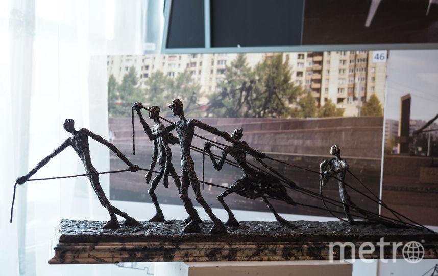 """В Комитете по градостроительству и архитектуре (КГА) открылась выставка скульптурных композиций, которые могут появиться в Петербурге. Фото Святослав Акимов., """"Metro"""""""