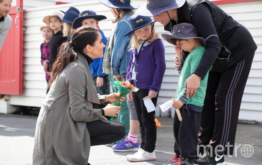 Меган Маркл и принц Гарри в Новой Зеландии. Фото Getty