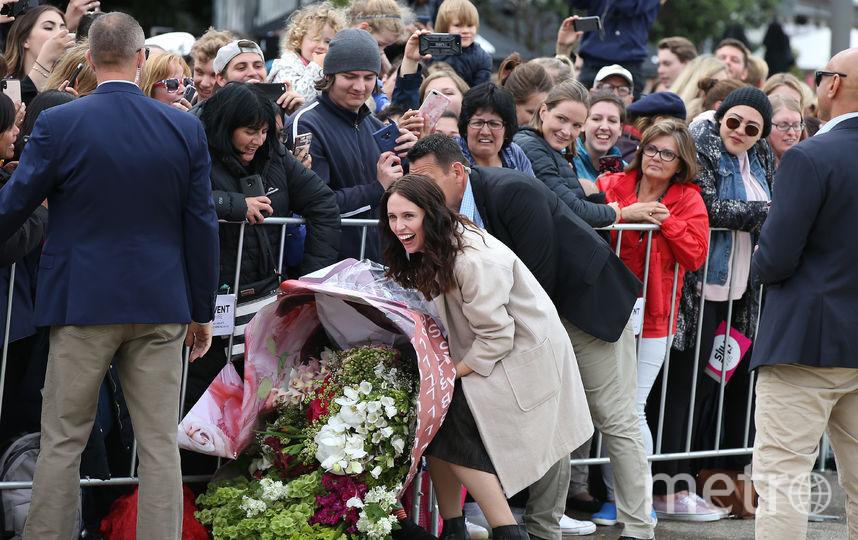 Меган Маркл и принц Гарри в Окленде. Фото Getty