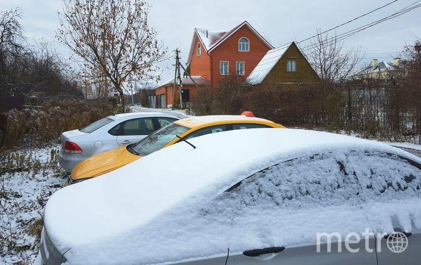 В Москве выпал снег. Фото Василий Кузьмичёнок