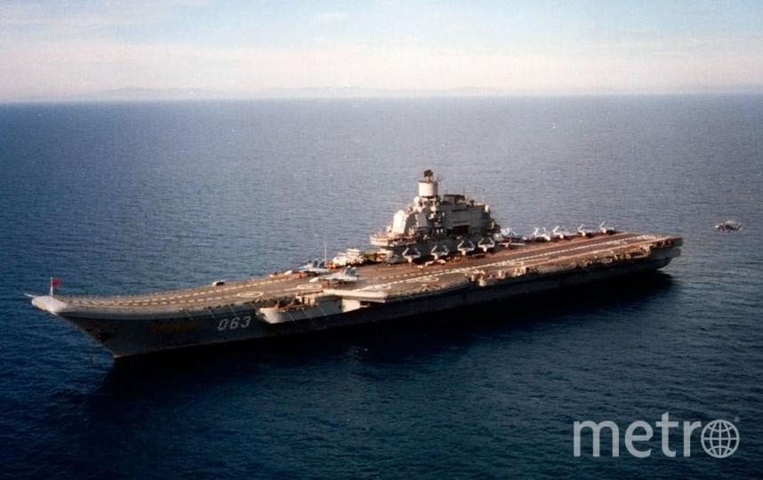 """""""Адмирал Кузнецов"""". Фото википедия"""