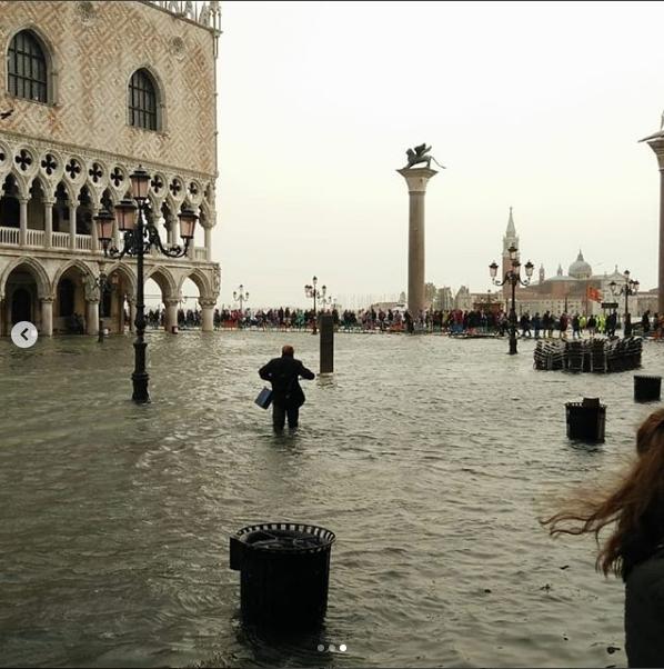 Венеция. Фото Скриншот instagram.com/veneziatoday/?hl=ru