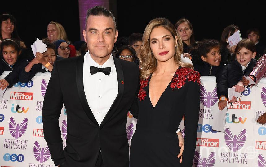 Pride of Britain Awards-2018. Робби Уильямс с женой. Фото Getty