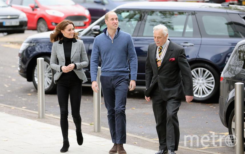 Принц Уильям и Кейт Миддлтон 30 октября в Эссексе. Фото Getty