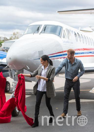 Меган Маркл и принц Гарри в Даббо. Фото Getty