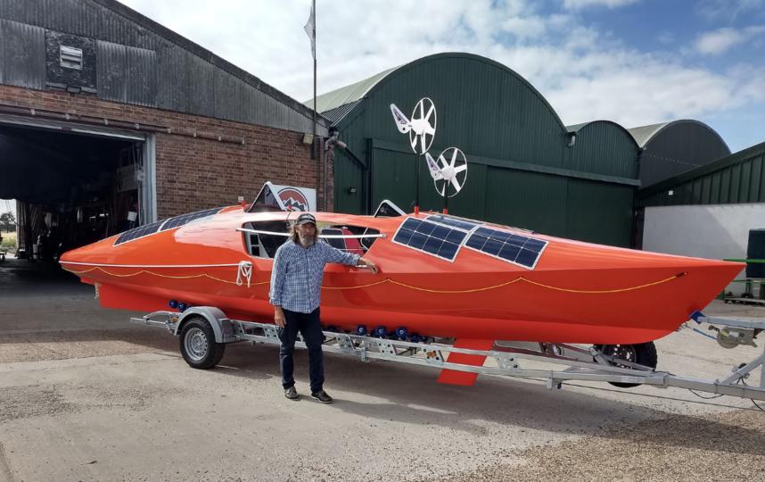 В очередную кругосветку Фёдор Конюхов отправится на новой лодке длиной девять метров. Фото Оскар Конюхов.