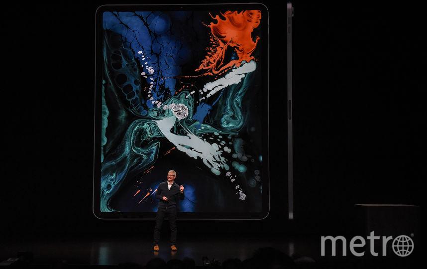 Apple презентовали новые Aipad Pro. Фото AFP