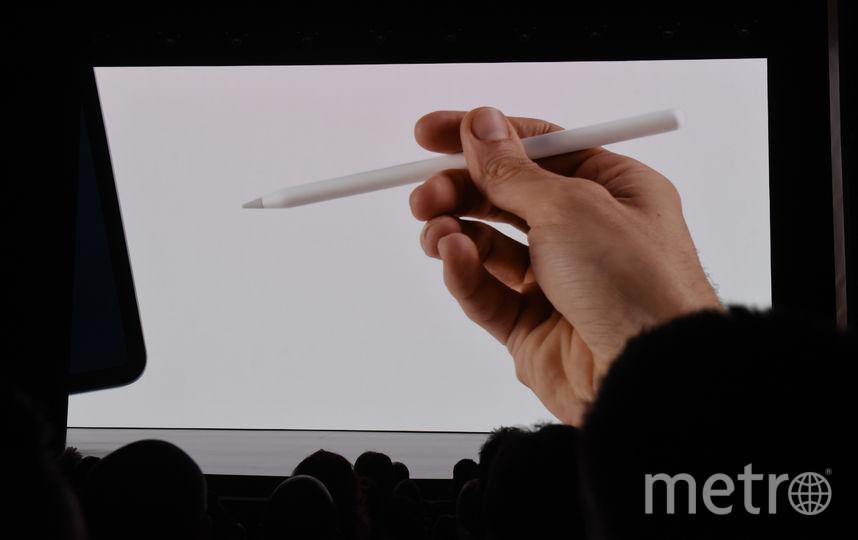 Новое перо Apple Pencil. Фото AFP