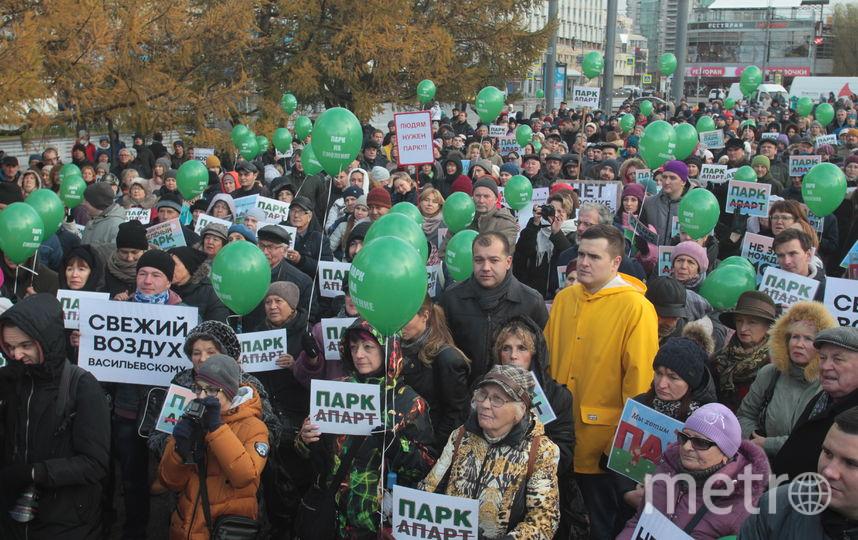 Горожане выходят на митинги. Фото Роман Пименов, Интерпресс