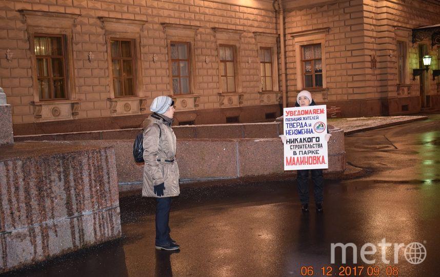 """Угроза не миновала. Фото группа «В защиту Парка Малиновка» vk.com, """"Metro"""""""